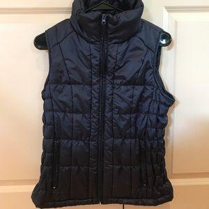 Navy blue New York & Company zip up vest